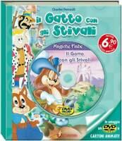 Il Gatto Con Gli Stivali - Libri Magiche Fiabe -(Libro+Dvd)