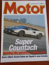 Motor 9/1/88 Ford Sierra Sapphire Turbo Technics