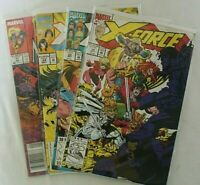 MARVEL COMICS X-FORCE ISSUES 14, 22 & 34 + INFERNO ISSUE 71 COLLECTIBLES