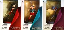 Dc Nation Super Best Friends Forever Set of 3 Collectible Pvc Figures!