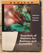 ESSENTIALS OF STATISTICS FOR BUSINESS AND ECONOMICS, REVISED By Dennis J. NEW