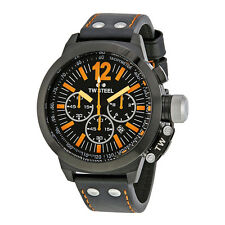 TW Steel Canteen 55 Chronograph Black Dial Mens Watch CE1030R