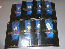 OPERA COMPLETA 8 DVD LEGGENDA FC INTER 2010 TRIPLETE MOURINHO
