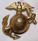 WW1 Marine Corps Enlisted EGA Hat Badge - USMC - SB