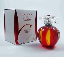 DELICES DE Cartier 30ml EDT Eau de Toilette Spray NEU/OVP RAR
