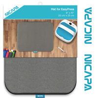 "Nicapa 8""x10""Heatpress Mat for Cricut Easypress 2,Vinyl Transfer Heating Ironing"