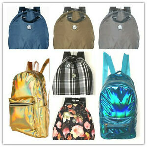 Womens Mens College School Backpack Casual Daypack Computer Bag Travel Business