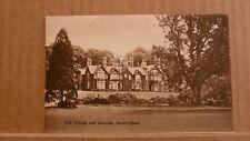 Postcard unposted Norfolk, Sandringham, York cottage and grounds