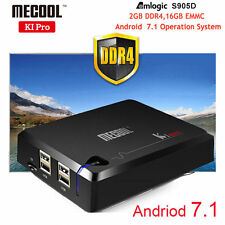 Android 7.1 DVB-C DVB T2+S2 KI Pro Amlogic S905D 2GB 16GB Quad-core Smart TV Box