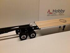 1/14 HH Road Train flatbed trailer, Tamiya compatible, Hercules based