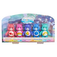 Care Bears Figurine Figure Set Harmony, Cheer, Wish, Love-a-lot and Grumpy Bear