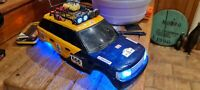 SCX10 custom RANGE ROVER bodyshell with lights and custom conversion kit... RARE