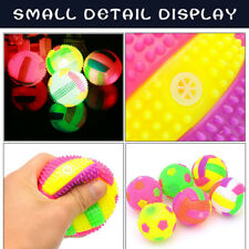 LED Volleyball Flashing Light Up Bouncing Hedgehog Ball Kids Toy Color Chang Hot