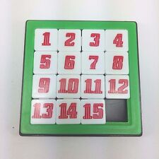 Brain Teasers 15 Slide Number Puzzle Game Smart Toy Jigsaw Kids Girl Boy