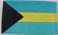 Bahamas Aufnäher gestickt,Flagge Fahne,Patch,Aufbügler,6,5cm,neu