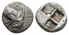 Koc Greek Coins.IONIA, Phokaia.Circa 500-450 BC. AR Tetartemorion 6mm