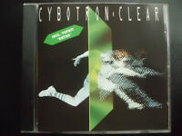 CYBOTRON    feat.  JUAN  ATKINS   -   CLEAR   , CD   1990 ,  ELECTRO , SYNTH POP