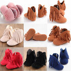 Toddler Infant Moccasin Newborn Baby Girl Boys Shoes Soft Sole Boots Prewalker