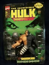 The Incredible Hulk ABSORBING MAN Transformations Action Figure Marvel Toy Biz