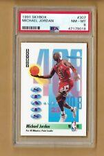 1991  Skybox   Michael Jordan  #307   PSA 8