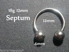 Piercings de acero quirúrgico oreja no aplicable