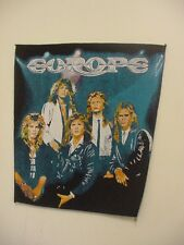 """ EUROPE ""  VINTAGE BACK PATCH  .ROCK BAND . "" FORCE "" 1970's"