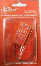 COOLTEC RSF04SB 2.4GHz 4CH Receptor Futaba S-FHSS/FHSS nuevo tipo de transmisor