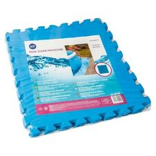 Gre MPF509 - Protector de Suelo para Piscina, 9 piezas, Color Azul, 4,5  (Azul)