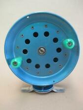 Angler, Scout 880 fly reel, fishing reel, centrepin, bright blue, vintage