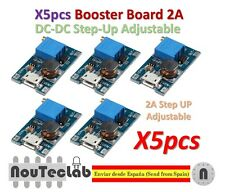 5pcs 2A Booster Board Micro USB DC-DC Step-up 2/24V to 5/9/12/28V Replace XL6009