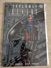 Superman Aliens - Dan Jurgens, Kevin Nowlan - Paperback, Dark Horse Book 1.