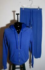 Men's 291 From Venice, California Blue 2 Piece Hooded Sweatsuit Size 03 (Med.)