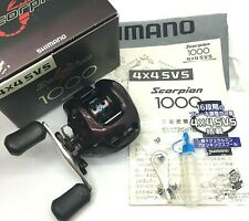 Shimano Scorpion 1000 Right Handed Bait Casting Reel <Excellent+++> JAPAN【DHL】