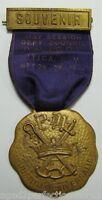 1921 IOOF SOUVENIR Medallion Independent Order of Odd Fellows UTICA NEW YORK