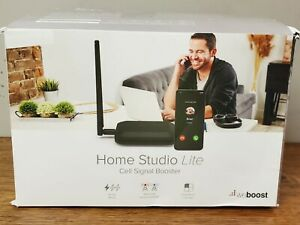weBoost Home Studio Lite Cell Signal Booster - Black New Open Box FREE SHIP