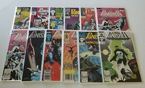 Lot of 12 The Punisher Comic Books Annual War Journal Zone #1-2,6-9,22,51,56,75