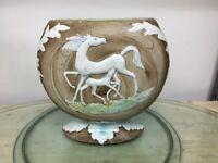 Vaso vintage in ceramica anni 70