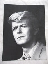 DAVID BOWIE   mini-poster cartonné N° 31 EBULLITIONS