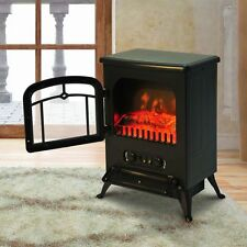 1850w Industrial Design Electric Fire Place 30m Coverage Fireplace Flame Heater