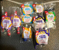 McDonalds Disney/'s Inspector Gadget Happy Meal Toy 8 Piece Full Set t3368 NIP