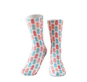 Pineapple socks.Fruit Socks. Vegetarian socks.Salad socks.Summer socks.Pink sock