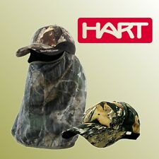 ██▓▒░ Hart Moss Jagdcap Kappe ,Schirmmützen mit Gesichtsschleier Gesichtsmaske