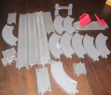 Thomas & Friends Train Lot Plastic Gray Track 20 Pieces Tank Engine TOMY