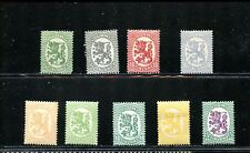 LOT 68927  MINT HR 83/103 TWO with no gum FINLAND ARMS  REPUBLIC HELSINKI ISSUE