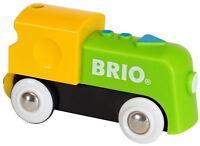 Brio MY FIRST RAILWAY BATTERY ENGINE Wooden Toy Train BN