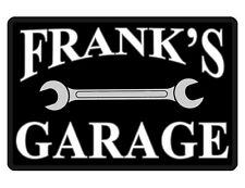 Personalized GARAGE Sign Printed *YOUR NAME* DURABLE Aluminum HIGH GLOSS PG#0059