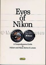 Eyes Of Nikon Book. Guide to Nikkor & Series E Manual Focus Lenses Others Listed