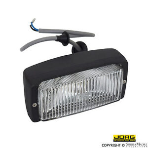 JORG Fog Light, Black, Porsche 911/Carrera/930 (74-83), 911.631.206.03
