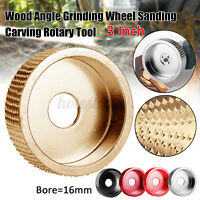 75mm Curved Grinder Shaping Disc Grinding Wheel Wood Sanding Angle Grinder Tool