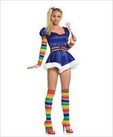 Leg Avenue Starburst Girl Costume 83090 Blue/Rainbow XS